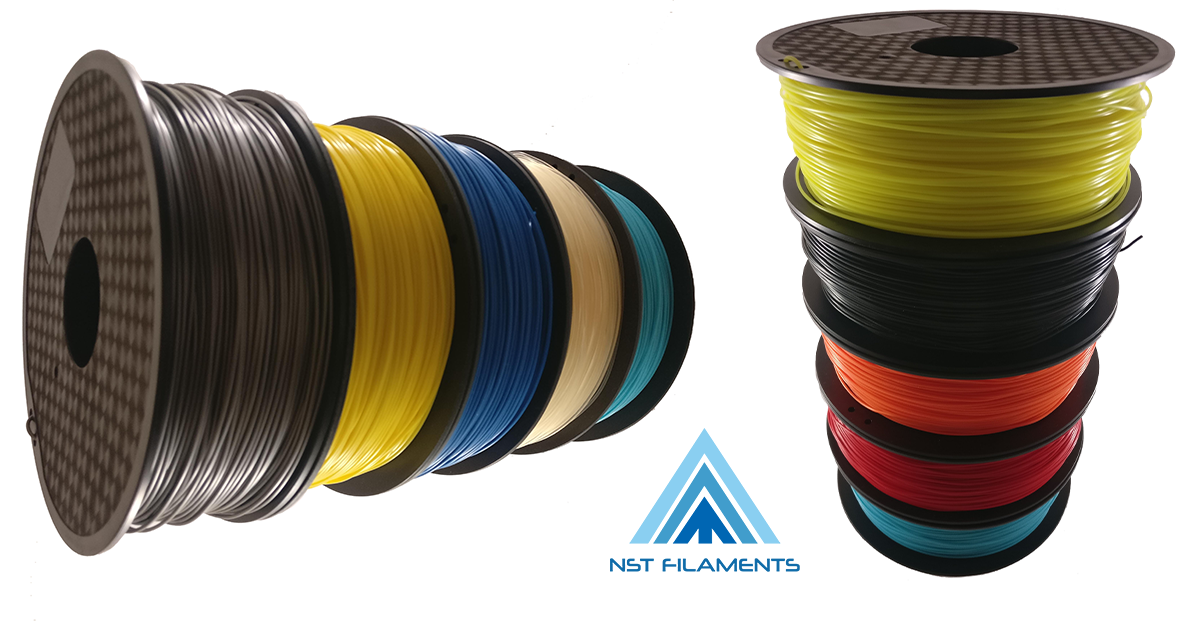 Professional 3D printer filament - PLA and ABS at good prices